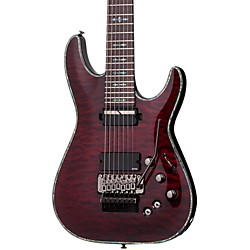 Schecter Guitar Research Hellraiser C-7 with Floyd Rose Sustaniac Electric Guitar (1829)