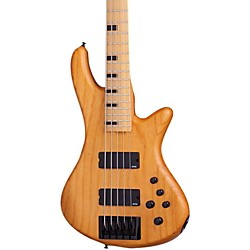 Schecter Guitar Research Session Stiletto-5 5 String Electric Bass Guitar (2851)