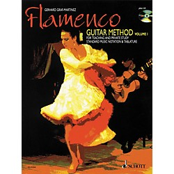 Schott Flamenco Guitar Method Volume 1 Book with CD (49008401)