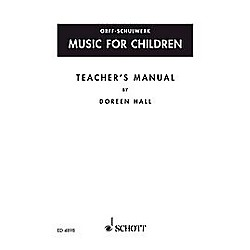 Schott Music For Children Teacher's Manual by Doreen Hall (49005243)