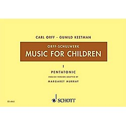 Schott Music For Children Vol. 5 Minor Triads Bordun by Carl Orff arr by Hall/Walter (49005446)