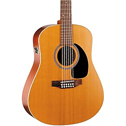 Seagull Coastline Series S12 Dreadnought 12-String QI Acoustic-Electric Guitar (29389)