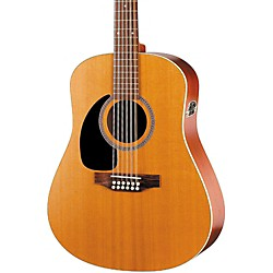 Seagull Coastline Series S12 Left-Handed 12-String QI Dreadnought Acoustic-Electric Guitar (29372)