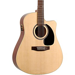 Seagull Coastline Series S6 Slim Cutaway Dreadnought QI Acoustic-Electric Guitar (30910)