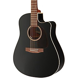 Seagull Entourage CW Black GT QIT Acoustic-Electric Guitar (034208)
