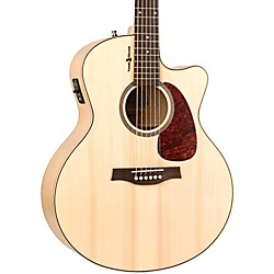 Seagull Heart of Wild Cherry CW Mini Jumbo SG Acoustic-Electric Guitar (036448)