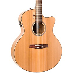 Seagull Natural Cherry CW Mini Jumbo SG Acoustic-Electric Guitar (036400)