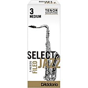 D'Addario Woodwinds Select Jazz Filed Tenor Saxophone Reeds