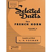 Hal Leonard Selected Duets for French Horn Vol. 2 Advanced
