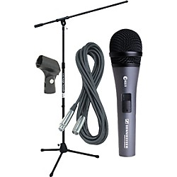 Sennheiser E822 MIC WITH STAND, CABLE & CLIP (KIT772538)