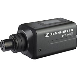 Sennheiser SKP 100 G3 Plug-On Wireless Transmitter (503130)