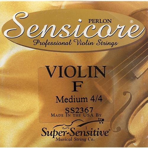 Super Sensitive Sensicore Violin Strings for 6-String Violin F, Medium, Nickel 4/4 Size-thumbnail