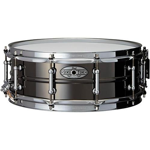 Pearl Sensitone Beaded Brass Snare Drum-thumbnail