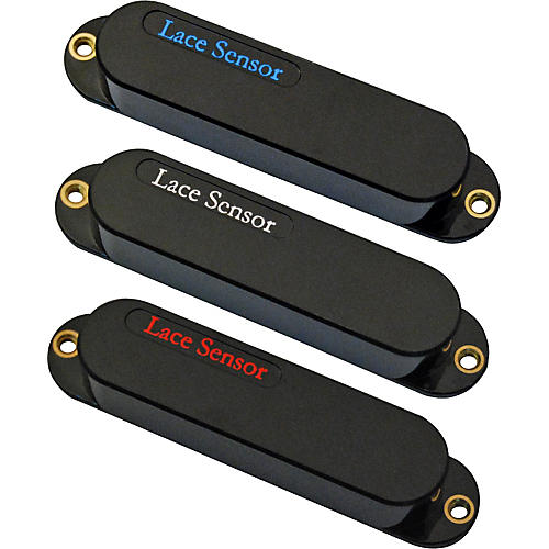 Lace Sensor Blue-Silver-Red 3-Pack S-S-S Pickup Set-thumbnail