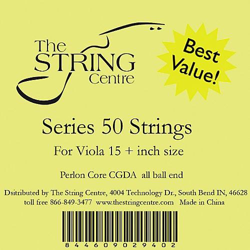 The String Centre Series 50 Viola String Set 15+ in.