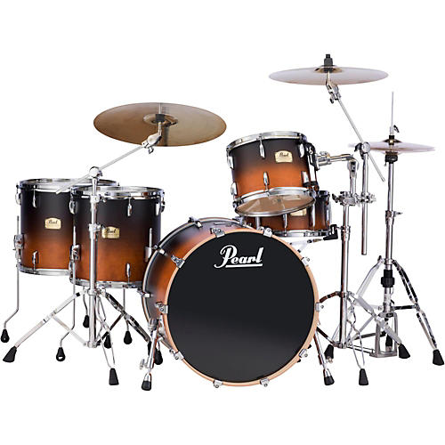 Pearl Session Studio Classic 4 Piece Shell Pack with Free 14 Inch Floor Tom-thumbnail