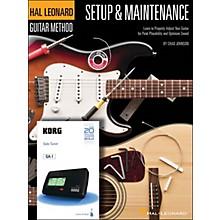 Hal Leonard Setup & Maintenance Hal Leonard Guitar Method Supplement (Includes Korg Tuner)