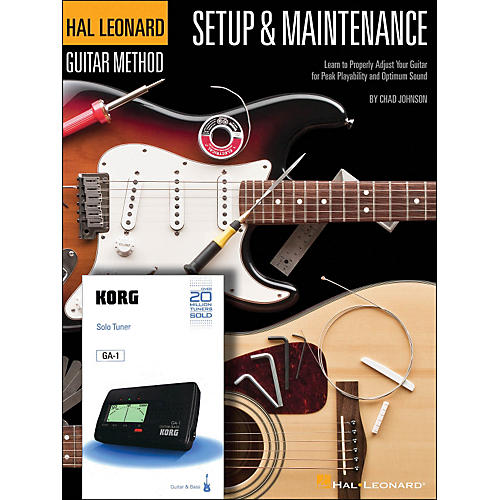 Hal Leonard Setup & Maintenance Hal Leonard Guitar Method Supplement (Includes Korg Tuner)-thumbnail