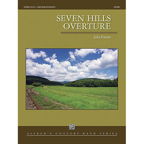 Alfred Seven Hills Overture Concert Band Grade 4 Set-thumbnail