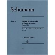 G. Henle Verlag Seven Piano Pieces In Fughetta form Op. 126 By Schumann / Herttrich