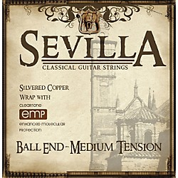 Sevilla Classical Guitar Strings Ball End EMP-Coated Classical Guitar Strings (8442)