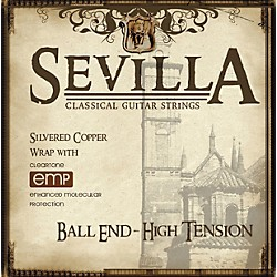 Sevilla Classical Guitar Strings Hard Tension Classical Ball End Guitar Strings (8452)