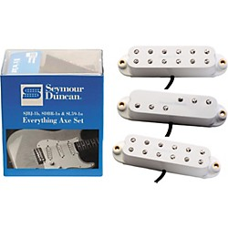 Seymour Duncan Everything Axe Single-Coil Electric Guitar Pickup Set (11208-15-W)