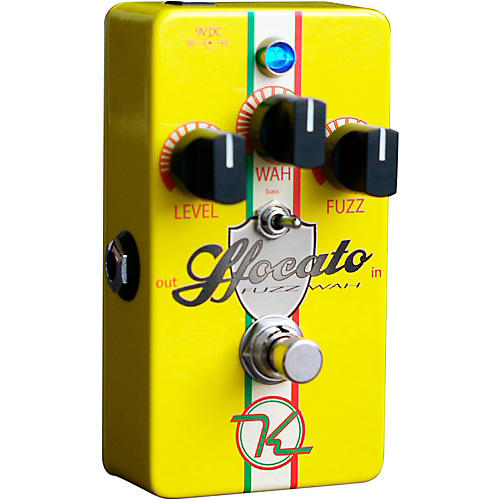 Keeley Sfocato Fuzz Wah Guitar Effects Pedal-thumbnail