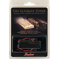 Shadow Humbucker Ring Tuner for Archtop Electric Guitar (SHA-HBTCT-BK)