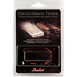 Shadow Humbucker Ring Tuner for Flattop Electric Guitar (SHA-HBTFT-BK)