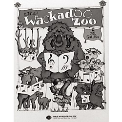 Shawnee Press Wackadoo Zoo (Book) (35024868)