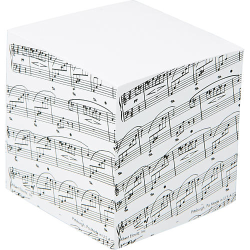 AIM Sheet Music Memo Cube-thumbnail