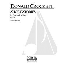 Lauren Keiser Music Publishing Short Stories for Flute, Viola and Harp LKM Music Series Composed by Donald Crockett