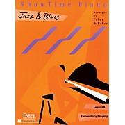 Faber Piano Adventures Showtime Jazz & Blues Level 1B-2A Faber Piano Adventures