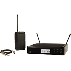 Shure BLX14R Wireless Guitar System with Rackmountable Receiver (BLX14R=-J10)
