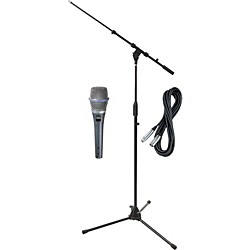Shure Beta 87C HH Condenser Mic with Cable and Stand (BETA87CHHPack)