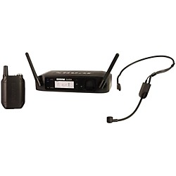 Shure GLX-D Digital Wireless Headset System with PGA31 Headset microphone (GLXD14/PGA31-Z2)