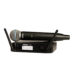 Shure GLX-D Wireless Vocal System with Beta 58 Mic (GLXD24/B58=-Z2)
