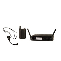Shure GLX-D Wireless Vocal System with PG30TQG Headset Mic (GLXD14/PG30=-Z2)