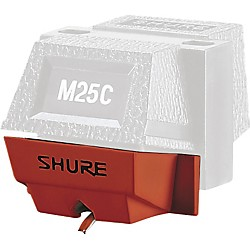 Shure N25C Stylus for M25C Fundamental Phono Cartridge (N25C)