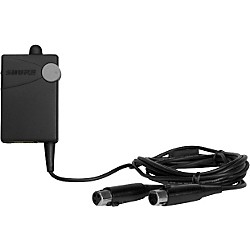 Shure P4HW Hardwired Bodypack for PSM 400 Systems (P4HW-X1)