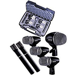 Shure PG 6-Piece Drum Microphone Package (PGDMK6-XLR)