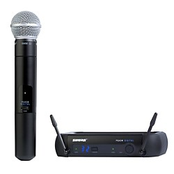 Shure PGXD24/SM58 Digital Wireless System with SM58 Mic (PGXD24/SM58-X8)