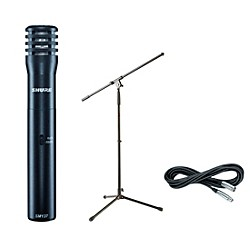 Shure SM137 Condenser Mic with Cable and Stand (SM137Pack)