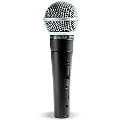 Shure SM58S Mic with Switch (SM58S)