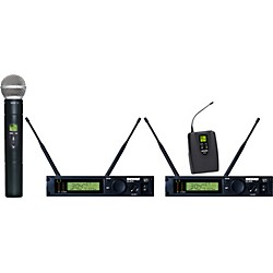 Shure ULXP124/58 Dual Channel Mixed Wireless System (ULXP124/58-J1)