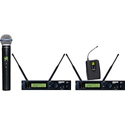 Shure ULXP124/BETA58A Dual Channel Mixed Wireless System (ULXP124/BETA58-M1)