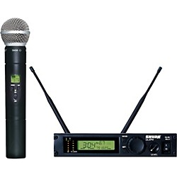 Shure ULXP24/58 Handheld Wireless Microphone System (ULXP24/58-M1)
