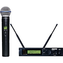Shure ULXP24/BETA58 Handheld Wireless Microphone System (ULXP24/BETA58-M1)
