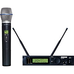 Shure ULXP24/BETA87C Handheld Wireless Microphone System (ULXP24/BETA87C-M1)